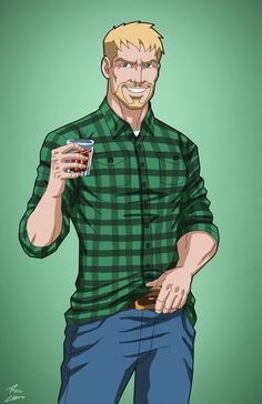 Oliver Queen (Earth-27) commission by phil-cho on @DeviantArt