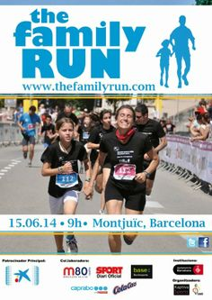 The Family Run Barcelona 2014 · La cursa familiar de Barcelona el primer 15 de juny! Animeu-vos!