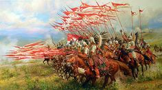 ~J   COURAGE....!   Charge of the Winged Hussars