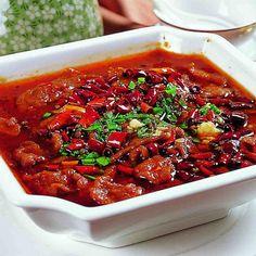 Sichuan: 水煮牛/鱼 Shui zhu niu / yu - Boiled Beef / Fish