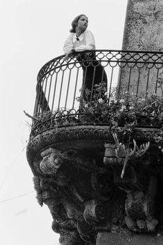 Caltagirone (Sicilia) del 1987.  Ferdinando Scianna