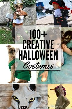 Check out this MEGA list of Cool DIY Halloween Costumes for everyone in your family.  The Sewing Loft