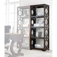 "Hooker Furniture Kinsey 80"" Etagere"