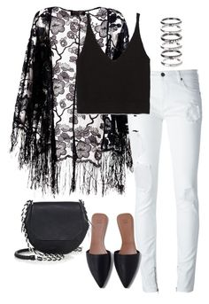 """Untitled #3064"" by meandelstyle ❤ liked on Polyvore featuring Pussycat, County Of Milan, Zara, rag & bone and M.N.G"