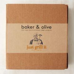 Olive Oil & Vinegar Grill Set