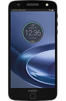 Motorola Moto Z Force Droid in Black/Lunar Grey