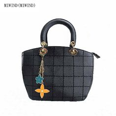 46.99$  Watch more here  - MIWIND(MIWIND)2017 women fashion handbags new  shoulder bags simple flowers girls cut Messenger bag thick line package