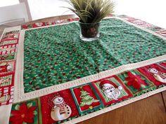 Receitas Círculo - Toalha de Natal Quadrada