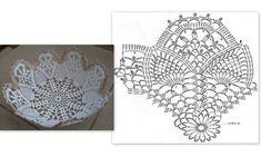 АЖУРНЫЕ КОНФЕТНИЦЫ. Обсуждение на LiveInternet - Российский Сервис Онлайн-Дневников Crochet Vase, Diy Crochet Basket, Crochet Basket Pattern, Thread Crochet, Filet Crochet, Crochet Doilies, Crochet Patterns, Crochet Storage, Wedding Ornament