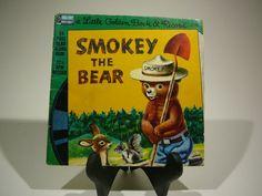 Smokey the Bear 1960 Disneyland A Little by VintageBookMarket, $5.00