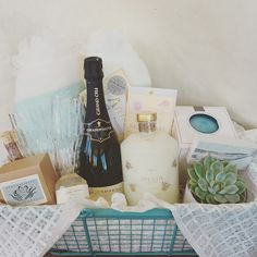"""""""Date Night In"""" Gift Basket                                                                                                                                                                                 More"""