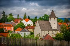 Check out Old village by ChristianThür Photography on Creative Market Village Photos, Architecture Photo, Austria, Christian, Marketing, House Styles, Building, Creative, Pictures
