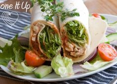 Tone It Up Greek Yogurt Chicken Salad Wrap