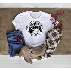 Order your own custom dog shirt through my Etsy shop! Cute Swag Outfits, Cute Comfy Outfits, Edgy Outfits, Cute Summer Outfits, Colourful Outfits, Simple Outfits, Fashion Outfits, Teenage Girl Outfits, Teenager Outfits