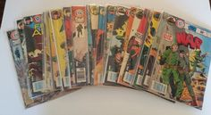 This auction is for a lot of vintage Charleton War comic books plus a few issues of Marvel's The Nam series thrown in as a bonus. The condition of the... #comics #military #vintage #charleton