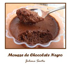 mousse chocolate negro Anna Olson