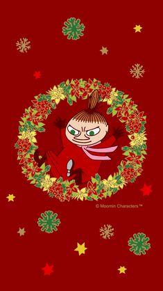 Moomin Wallpaper, Iphone Wallpaper, Little My Moomin, Moomin House, Estilo Coco Chanel, Tove Jansson, Winter Christmas, Cartoon Characters, Fantasy Art