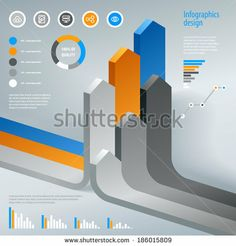 Modern infographics Vector graphic design layout eps 10 by Yes Man, via Shutterstock