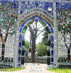 Recycled bottles - this has been an inspiration for a while now