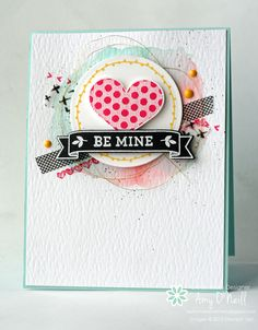 This is my week to be the hostess over at Freshly Made Sketches, and I really hope you'll like the sketch and play along. I have been having fun designing collage-style cards lately, so that is ho...