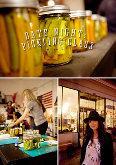 A Pickling Date #datenight #howaboutwe