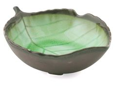 4 3/4 Lime Crackle Saucer