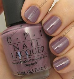 smokey purple nails- Parlez Vous OPI
