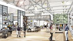 West Elm store in Los Angeles By Thomas O'Brien