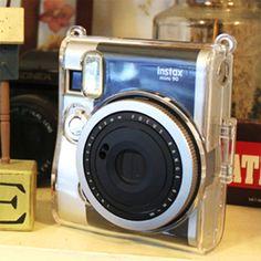 Fujifilm Instax Mini 90 Camera Case Crystal Clear by MaterialDream