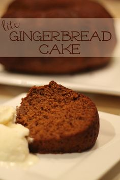 Dragonfly Designs: Gingerbread Cake