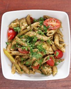 Pesto Chicken Pasta Meal Prep (Under $20) | This Pesto Chicken Pasta Meal Prep Recipe Will Cost You Less Than Twenty Dollars