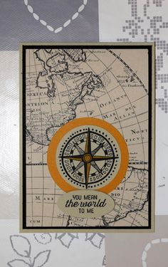 You mean the world to me Going Global - Het Knutsellab - Stampin Up #stampinup #crafts #knutselen #stempelen