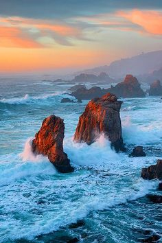 Garrapata State Park just south of Carmel on the Monterey Coast in California - by Deb Harder