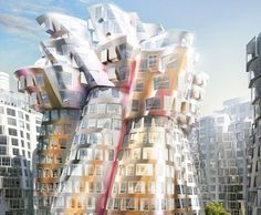 New Images of Battersea Power Station and Frank Gehry's Flower Tower Unveiled as Apartments Hit the Market Frank Gehry, Battersea Power Station, Flower Tower, Foster Partners, Green Building, First Photo, New Image, The Fosters, Facade