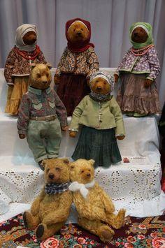 Hello, Teddy! Мишки - любовь моя! / Выставка кукол - обзоры, репортажи, информация, фото / Бэйбики. Куклы фото. Одежда для кукол