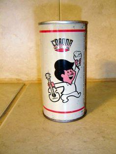 Cerveza Corona  puertorriquena de antes!!!