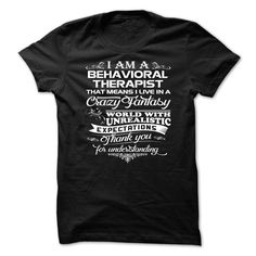 Awesome Behavioral Therapist shirt! T Shirt, Hoodie, Sweatshirt