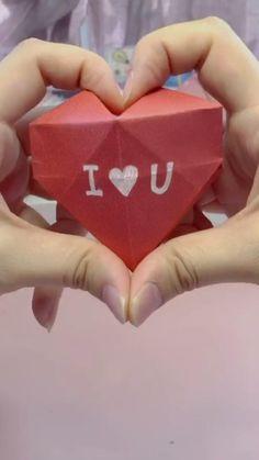 Origami Tutorial, Instruções Origami, Paper Crafts Origami, Dollar Origami, Origami Bookmark, Origami Ring, Heart Origami, Origami Videos, Origami Instructions