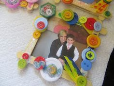 Denise's Yadda Yadda on Soap Making, Crafts & Personal Ramblings: How To: Mother's Day Picture Frames