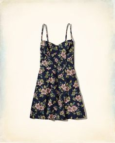 Girls Printed Twill Structured Dress | Girls Clearance | HollisterCo.com