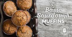 Basic Sourdough Muffin