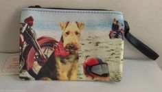 Airedale Terrier Coin Purse Show Dogs Water Sports American Kennel Club Animals