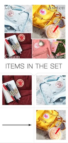 """""""Your Fjallraven Kanken Backpack!"""" by x5sosxpreferencesx ❤ liked on Polyvore featuring art"""