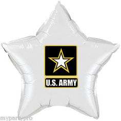 US ARMY ARMY STRONG MYLAR BALLOON DECORATIONS Party Supplies FREE SHIPPING NEW Military Send Off Party Ideas, Military Retirement Parties, Military Party, Army Party, Retirement Ideas, Army Decor, Military Decorations, Retirement Party Decorations, Balloon Decorations Party