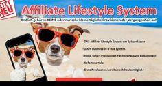 Mit dem Affiliate Lifestyle System zum Online Einkommen für Jedermann