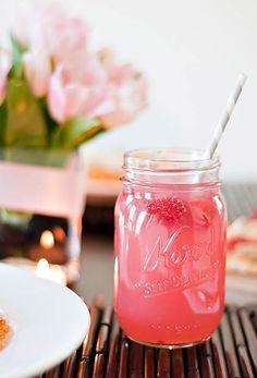 Watermelon and Lemonade Alcoholic Cocktail