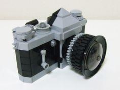 A Realistic Camera Made Of LEGO -