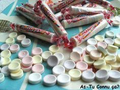 i remember eating this but they were decidedly NOT yummy - totally chalky. blech!