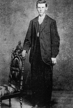 Jesse James, age-20, 1867, San Francisco