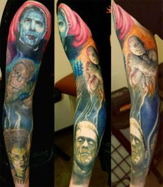 Horror sleeve- Yes! one of these days :)